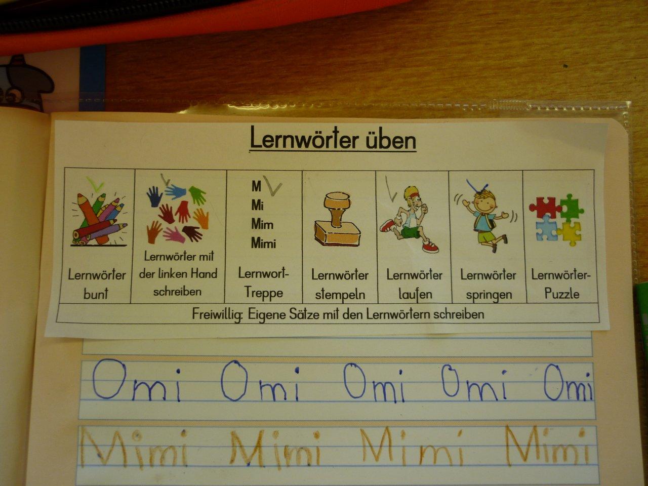 Buchstaben lernen 1 klasse